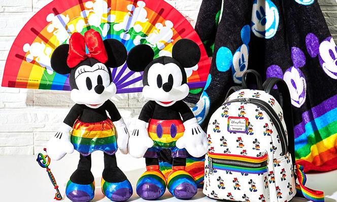 mickey minnie rainbow